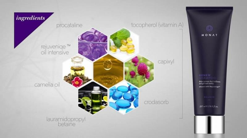 Pure Energy Bodies Monat Naturally Based Hair Care Products